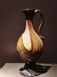 マーブル・グラス水差 1550-1560年頃 ヴェネチア.JPG
