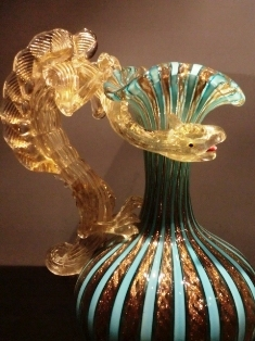龍装飾水差 19世紀 ヴェネチア.JPG